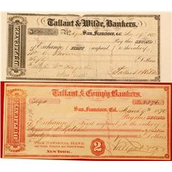Tallant & Wilde Seconds of Exchange, San Francisco  (67033)