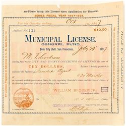 Steamship Agent License  (58654)