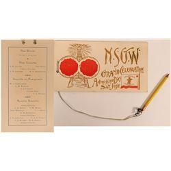 Native Sons of Golden West Admission Day Celebration Program  (117285)