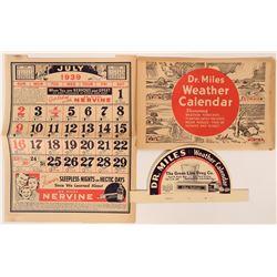 Dr. Miles Drugs Weather Calendar  (118866)