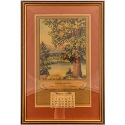Oliver Hardware, Sonora, CA Advertising Calendar  (51379)