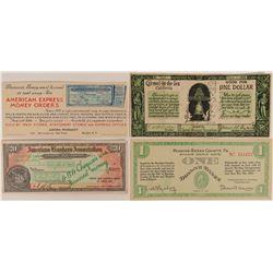 Stamp Scrip Notes  (117270)