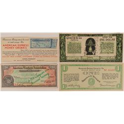 Stamp Scrip Notes  (117270)