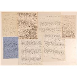 Early California Letter Group with Great Content including George Swan  (101472)