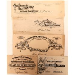 Farm Supply Printers' Proofs of Advertising Coupons and Business Cards  (118083)