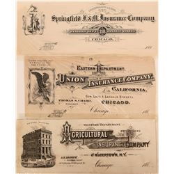 Printers' Proofs Insurance Co. Advertisements  (118088)