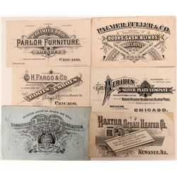 Six Printers' Proofs of Business Cards  (118080)