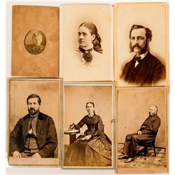 Great Lakes Area Photographs CDV Cards  (117307)