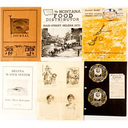 Souvenir Booklets from Helena, Montana 1930-1960  (50273)