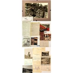 Miscellaneous Collection of Montana Mining & Other Ephemera  (47876)