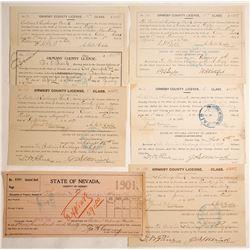 Bullion & Exchange Bank Archive (Carson City, Nevada)  (60133)