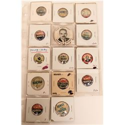Thomas Dewey Pin Backs  (118121)