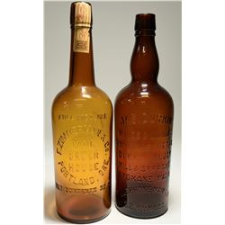 Northwest Whiskey Bottle Pair  (117949)