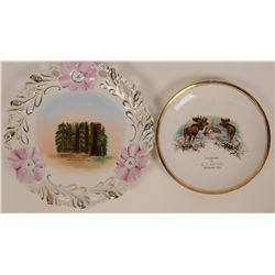 Mariposa Souvenir Plates  (119653)