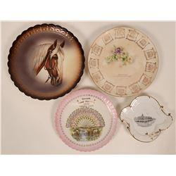 Souvenir Collector Plates lot 4  (117826)