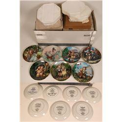 Hummel Souvenir and Art Plate Group  (118271)