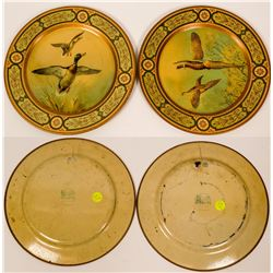 Two cookie plates from Baret Ware  (110517)