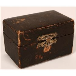 Antique Jewelers Vice in Original Box made just for this vice  (118199)