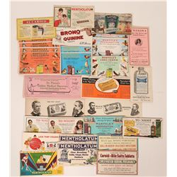 Patent Medicine Advertising Blotters (29)  (118327)