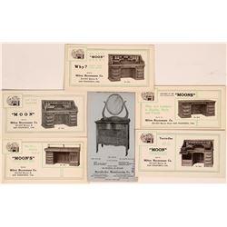 Oak Furniture Advertising Blotters (6)  (118330)