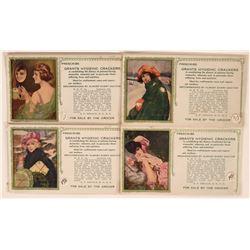 Frederick Duncan Art Advertising Blotters (4)  (118347)