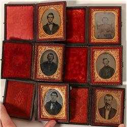 1860's (?) Cased Portraits  (91178)