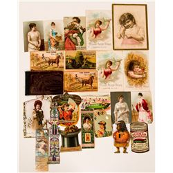 Advertising Trade Cards  (110515)