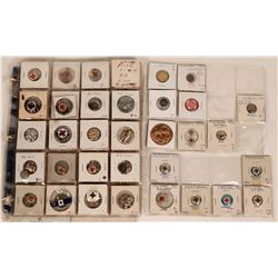 American Red Cross Pinbacks, Buttons and Pins Collection  (118889)