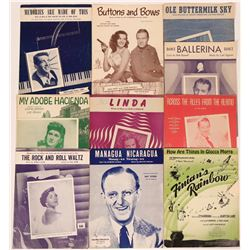 Big Band sheet music from the 1940's  (116867)