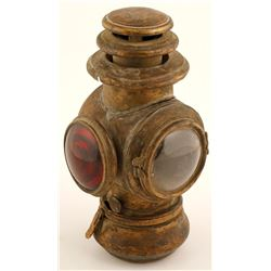 Brass Carriage Lamp  (62166)