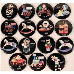Christmas Pinback Buttons  (118884)