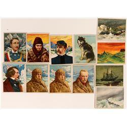 Cigarette Cards featuring Explorers  (116149)