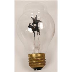 Early Light Bulb with Figurine  (119613)