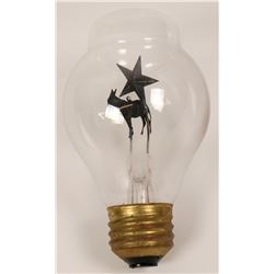Early Light Bulb with Figurine  (119613)