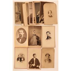 Group of Vintage CDV's  (117316)
