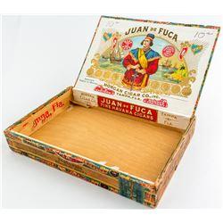 Juan de Fuca Cigar box  (48309)