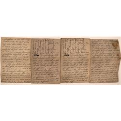 Mary Lincoln Letter Copy  (117310)