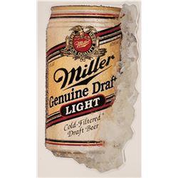 Metallic Miller Lite Sign  (120004)