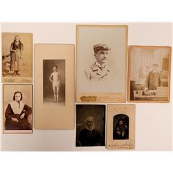 Old Photos & Cabinet Card  (117275)
