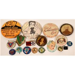 Pin-back collection  (116748)