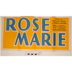 Rose Marie Movie Pasteup  (85172)