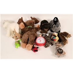 Stuffed Plush Animals, Assorted   (119623)