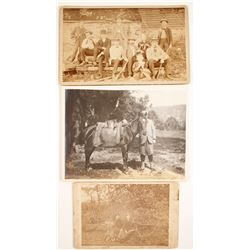 Three Hunting Photographs  (63619)