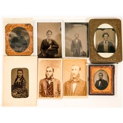 Tintypes and CDVs Photographs  (117305)