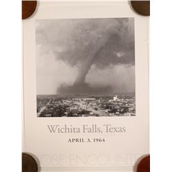 Tornado of Witchita Falls Texas Poster  (91361)