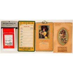 Vintage Calendars 1907-1967  (110518)