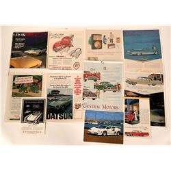 Vintage Group of Automobile Advertisements and Photos  (117482)