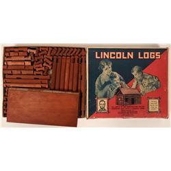 Vintage Lincoln Log Double Set  (117142)