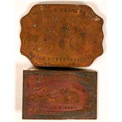 Wells-Fargo belt buckles  (116745)