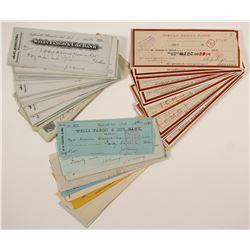 Western Checks, Mostly Wells Fargo  (90598)